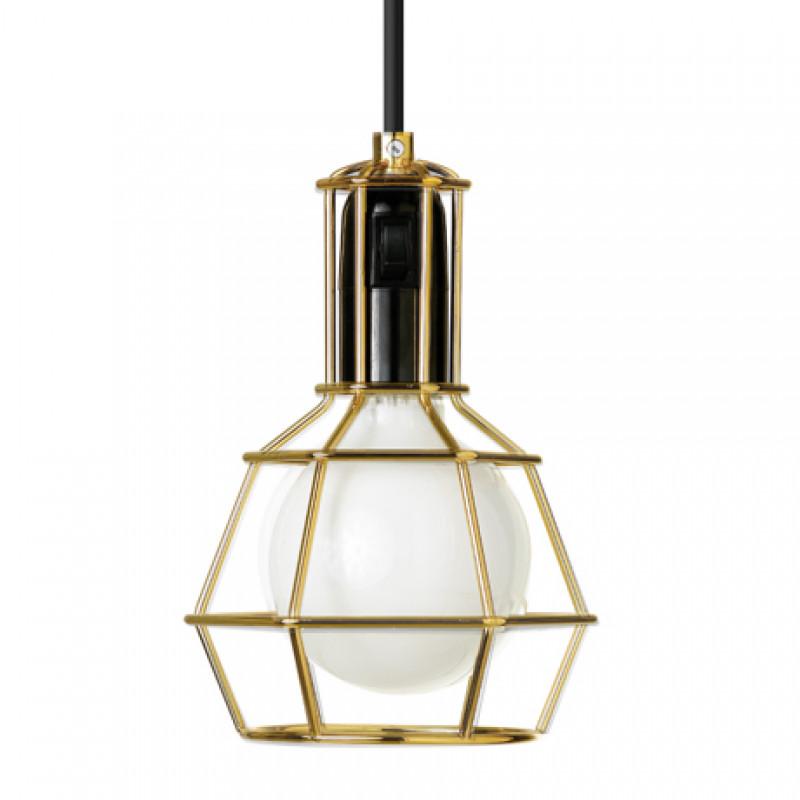 Work Lamp Gold, Design House Stockholm